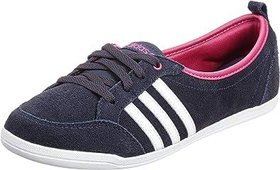 rizo Oficiales Espolvorear  Adidas Neo Etiqueta Piona W Zapatillas Deportivas Tipo Bailarinas, Color  Azul Marino/Blanco/Rosa - Azul Oscuro, 41 1/3: Amazon.es: Zapatos y  complementos