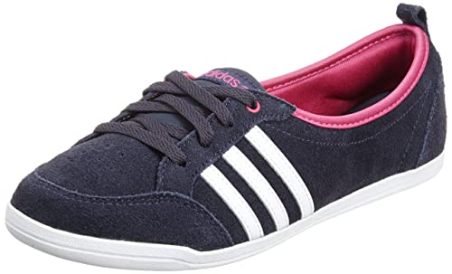 free shipping 3b54e 4bd98 adidas Women s Neo Label Piona W Sneakers - Ballerina Casual Shoes - Navy  Blue White Bright Pink - Dark Blue, UK 7.5  Amazon.co.uk  Shoes   Bags