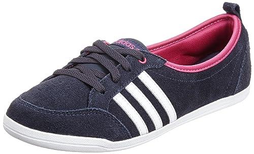 pretty nice e6aa6 d8f9e adidas Ballerine Sneakers da Donna - Blu Bianco Fucsia - Blu Scuro, EUR