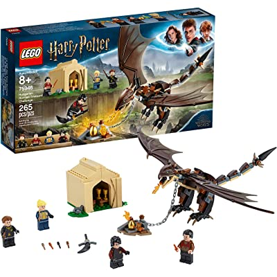 LEGO Harry Potter and The Goblet of Fire Hungarian Horntail Triwizard Challenge 75946 Building Kit (265 Pieces): Toys & Games