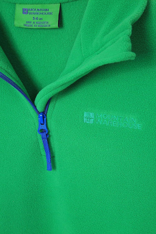 Anti-Boulochage imperm/éable L/ég/ère Hiver Respirante S/échage Rapide A/ération Suppl/émentaire Mountain Warehouse Polaire Camber pour Enfant