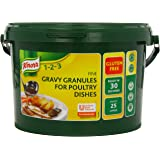 Knorr Gluten Free Gravy Granules for Poultry Dishes, 25 Litres