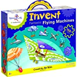 """Creativity For Kids Spark!Lab Smithsonian """"Invent Fantastic Flying Machines"""" Model Kit"""