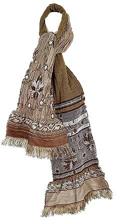 4c24117bf3d5 Madame Dutilleul - Echarpe Motifs marron glacé  Amazon.fr  Vêtements ...