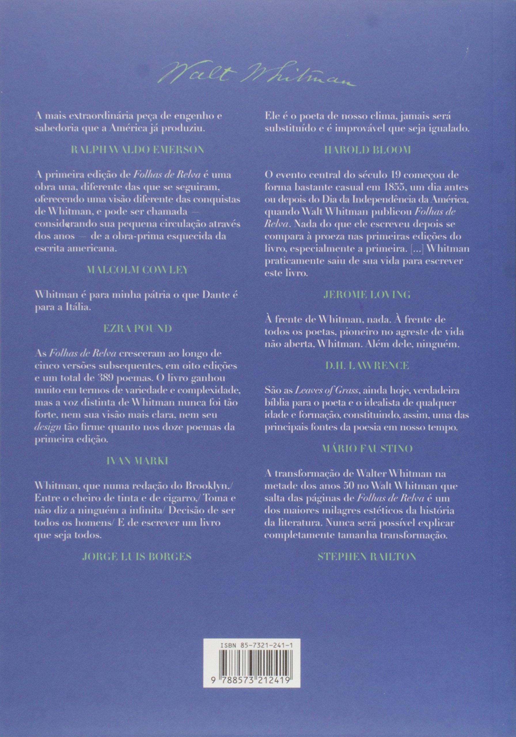 FOLHAS DE RELVA WALT WHITMAN PDF