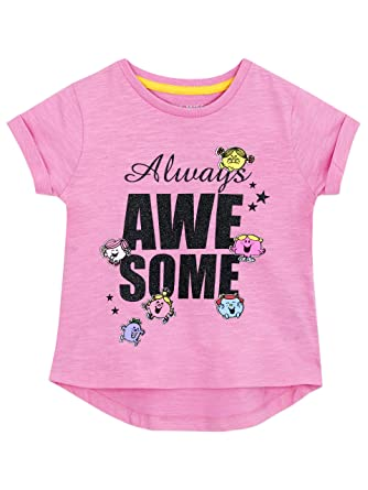 Mr Men Girls Little Miss T-Shirt Age 5 to 6 Years  Amazon.co.uk  Clothing c6bc7d719