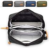 Tech Bag and Electronics Organizer Bag for Travel (Black)