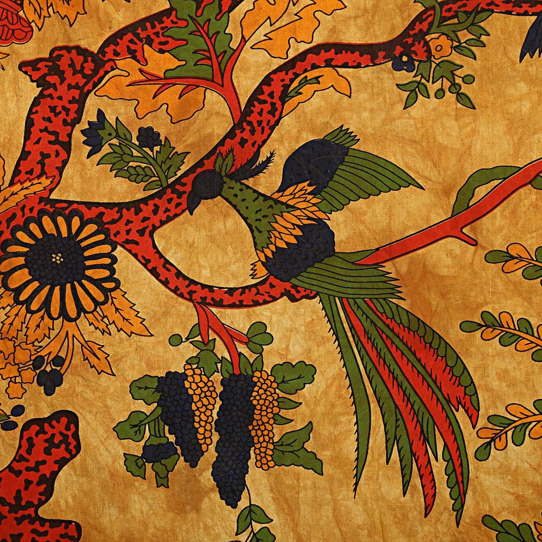 Charoil Enterprises Tenture Murale Mandala Indienne Faite /à la Main en Coton Motif Arbre de Vie