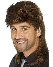 Smiffys Men's Mullet Wig