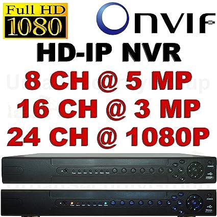 Amazon com : USG Ultra HD Security IP NVR + 2TB HDD: 8Ch @ 5MP 16Ch
