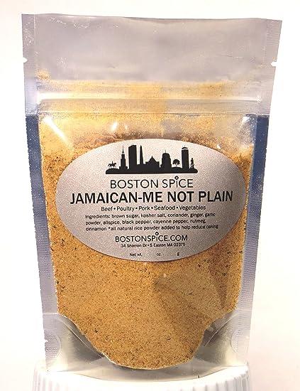 Boston Spice Jamaican Me Not Llanura del Caribe del tirón de la frotación de la Mezcla
