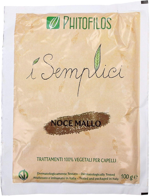 Phitofilos Mallo di Noce - Polvere Riflessante Castano Ambra + Trattamento Yumi Incluso