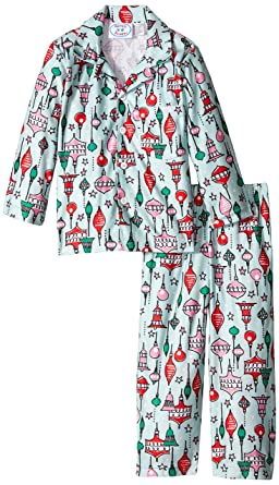 Amazon.com  Sara s Prints Unisex Kids Button Front Pajamas  Clothing e765afdc3