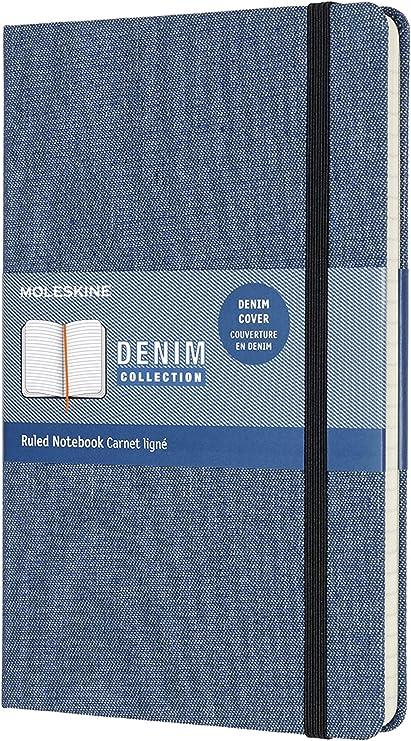 Amazon.com: Moleskine Denim Collection Cuaderno grande ...