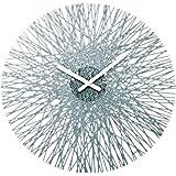 Koziol 2328540, Orologio da parete, diametro 44,8 cm, Grigio (anthrazit)