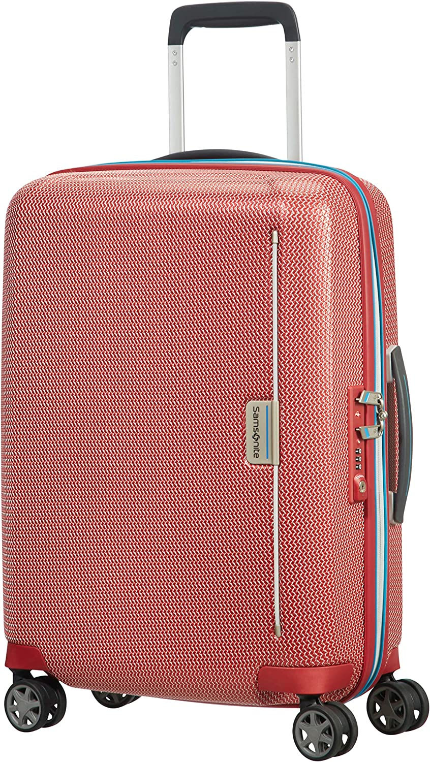 Samsonite Mixmesh - Spinner Maleta, Red/Pacific Blue (Rojo) - 106745/7085