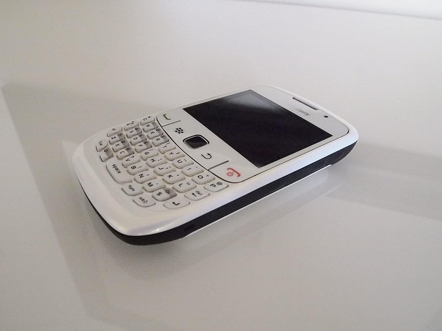 Amazon.com: RIM BlackBerry Curve 2 8530, White (Sprint) CDMA - No Contract  Required: Cell Phones & Accessories