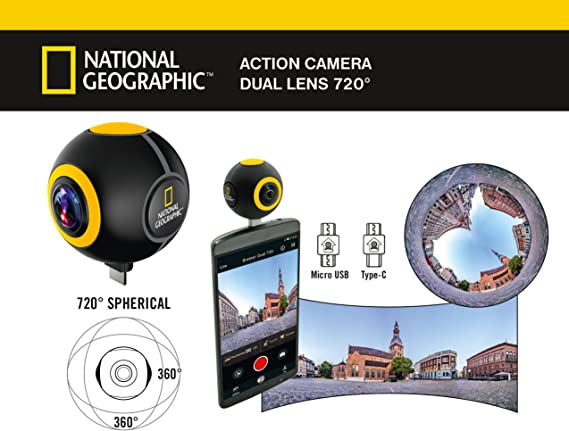 National Geographic Android Acción Cámara Spy: Amazon.es: Electrónica