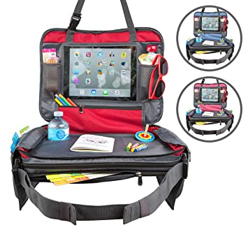Snack Green, 17 x 13.5 Play & Learn Lap Desk for Car Seats ...