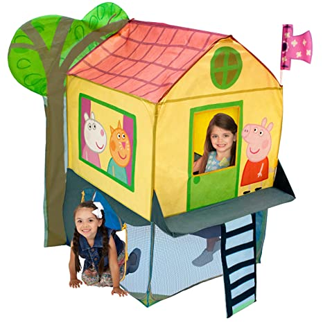 Playhut Peppa Pig Tree House  sc 1 st  Amazon.com & Amazon.com: Playhut Peppa Pig Tree House: Toys u0026 Games