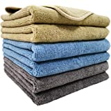 Polyte Microfiber Cleaning Cloth (14x14, 6 Pack, Professional)