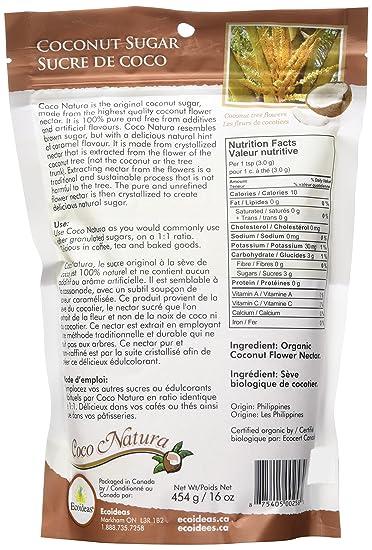 Ecoideas Coco Natura Organic Coconut Sweetener 454g