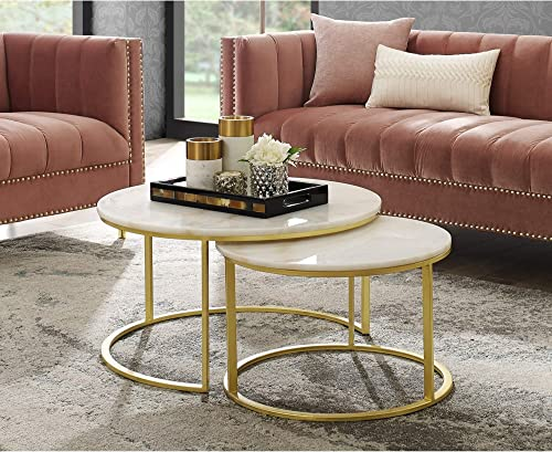 Inspired Home Gold Coffee Table