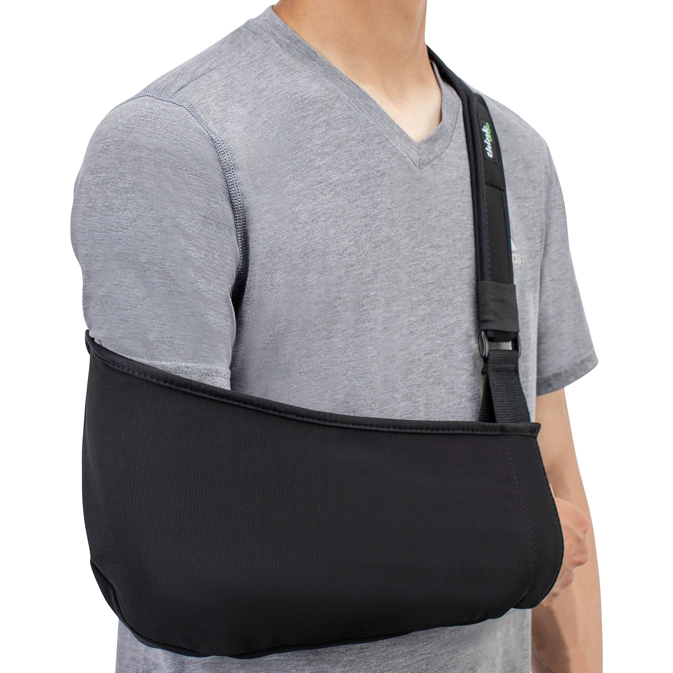Think Ergo Arm Sling Sport - Lightweight, Breathable, Ergonomically Designed Medical Sling for Broken & Fractured Bones - Adjustable Arm, Shoulder & Rotator Cuff Support (Adult) by Think Ergo (Image #7)