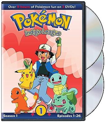 amazon com pokémon indigo league season 1 movies tv