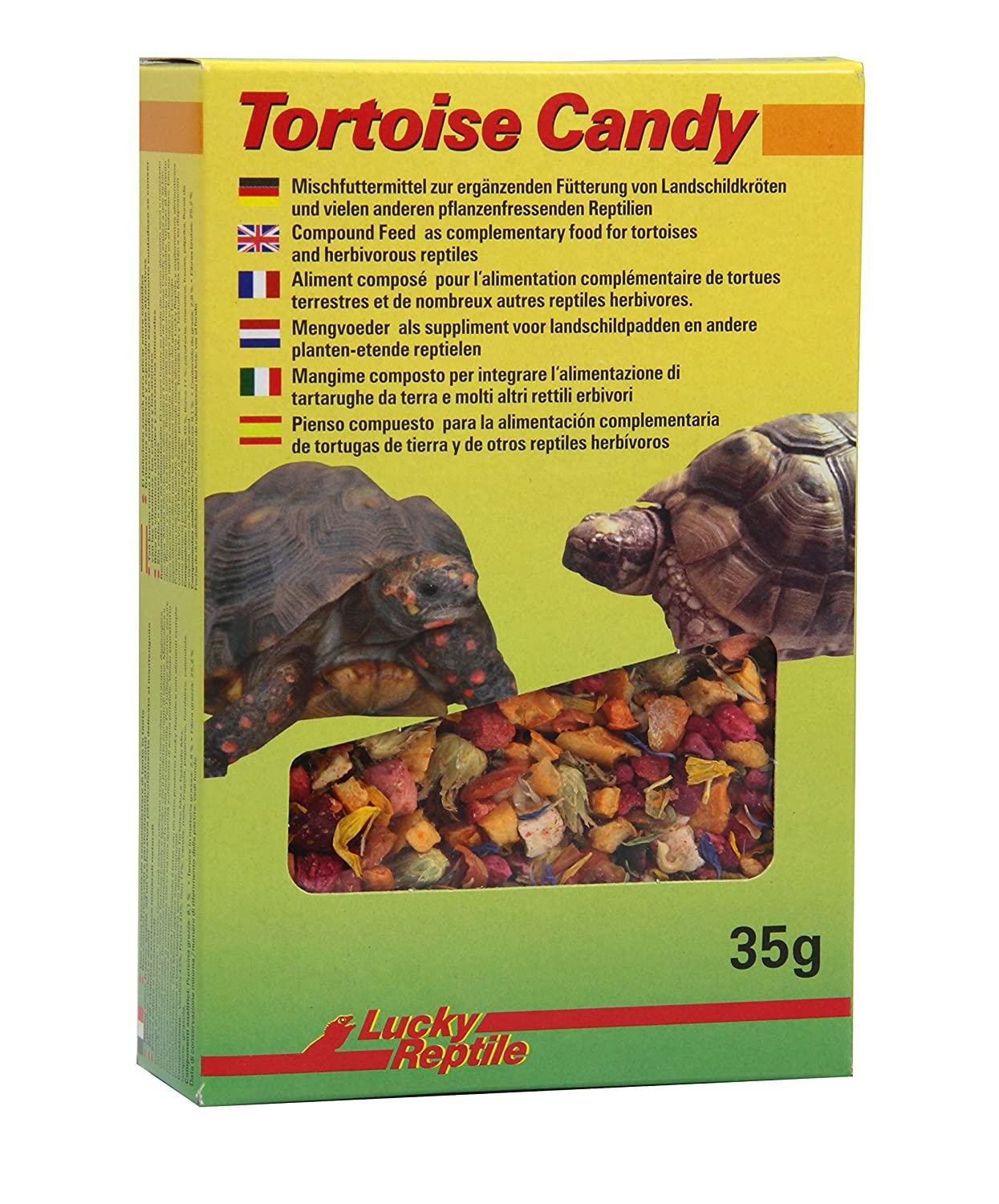 Lucky Reptile Tortoise Candy 1er Pack (1 x 70 g) TOC-70
