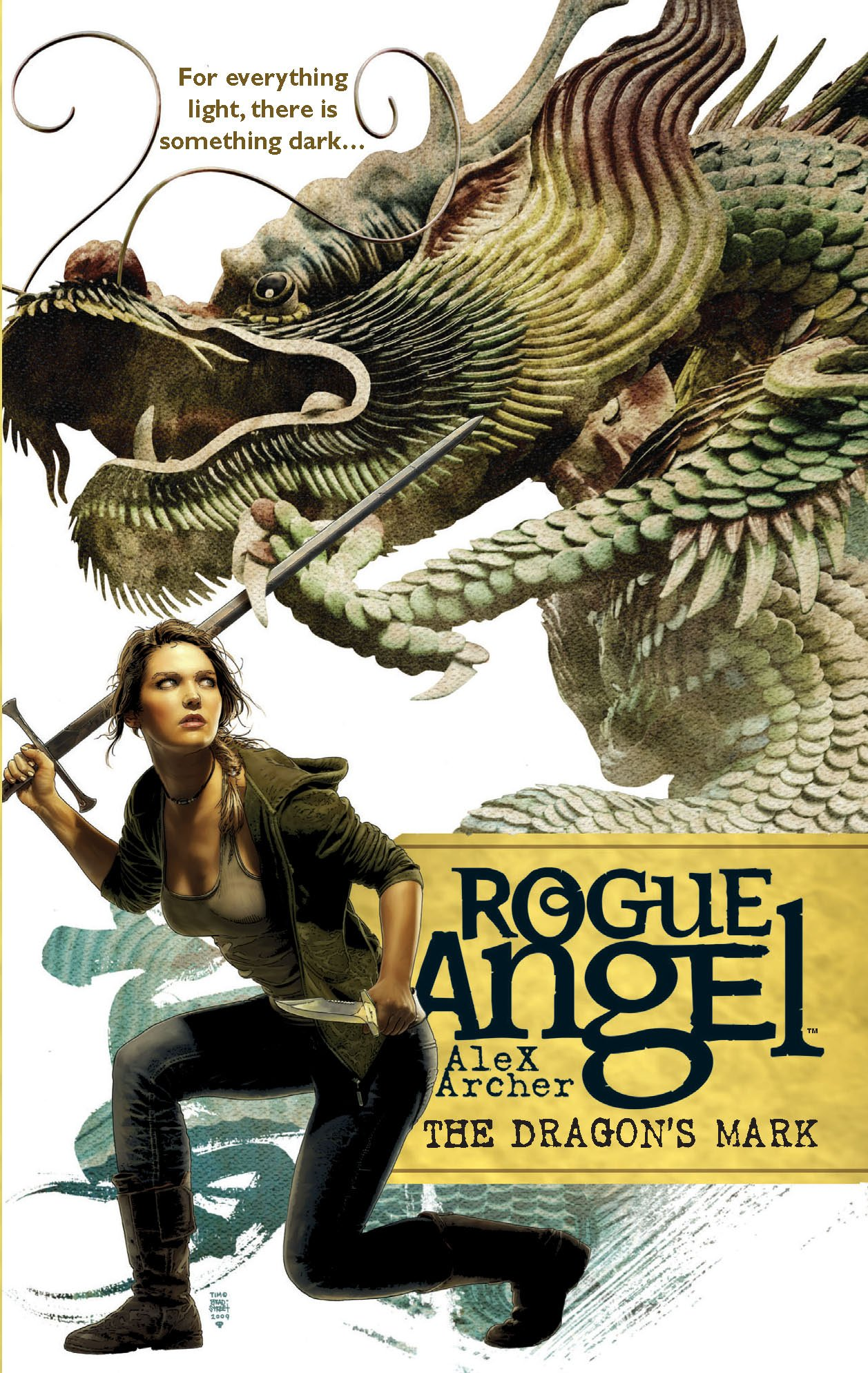 Amazon.com: The Dragon's Mark (Rogue Angel) (9780373621453): Alex Archer:  Books