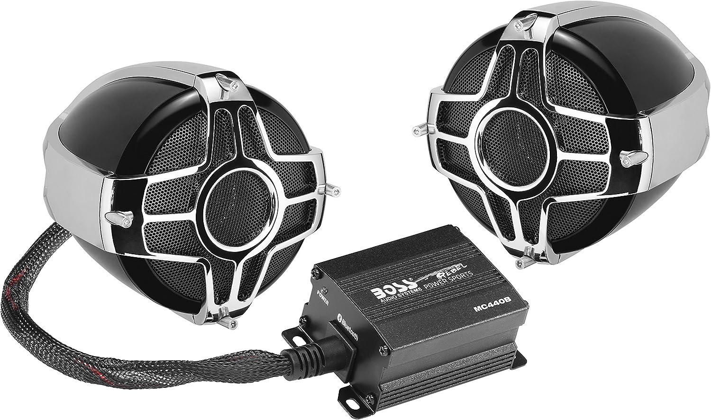 BOSS MC440B Motorcycle Weatherproof Bluetooth Speakers