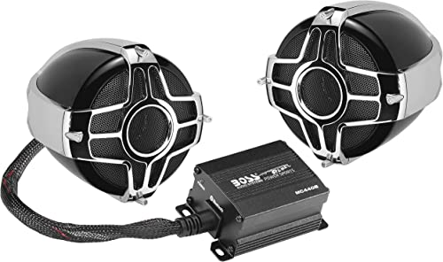 BOSS Audio Systems MC440B Motorcycle Weatherproof Speaker System