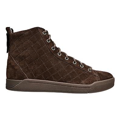 Diamond Men's Suede High-Top Sneakers Shoes ...