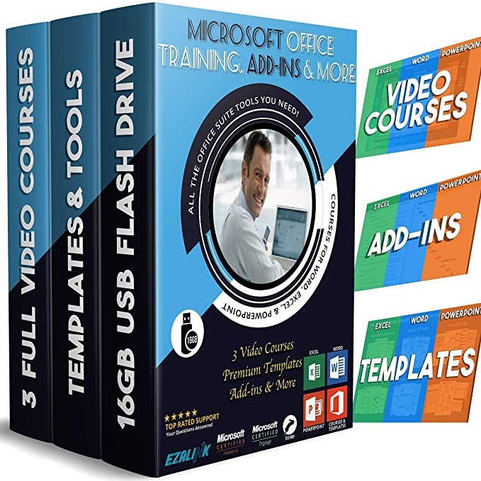 Amazon Com Excel Powerpoint Word Learning Templates Add