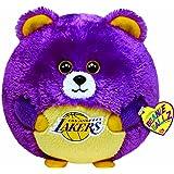 Ty Beanie Ballz Los Angeles LA Lakers - NBA National Basketball Association  Large 13