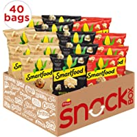 40-Pack Smartfood Popcorn Variety Pack, 0.5 Ounce