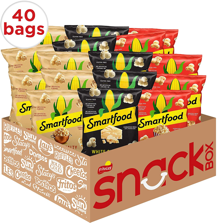 Smartfood Popcorn Variety Pack 40 Count Ebay