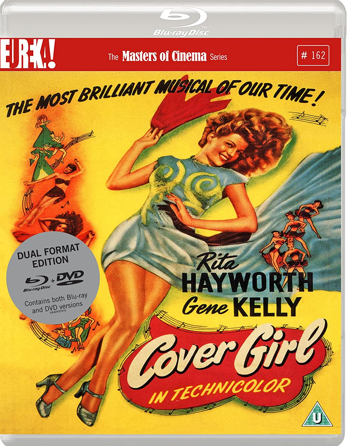 Cover Girl Masters Of CinemaDual Format