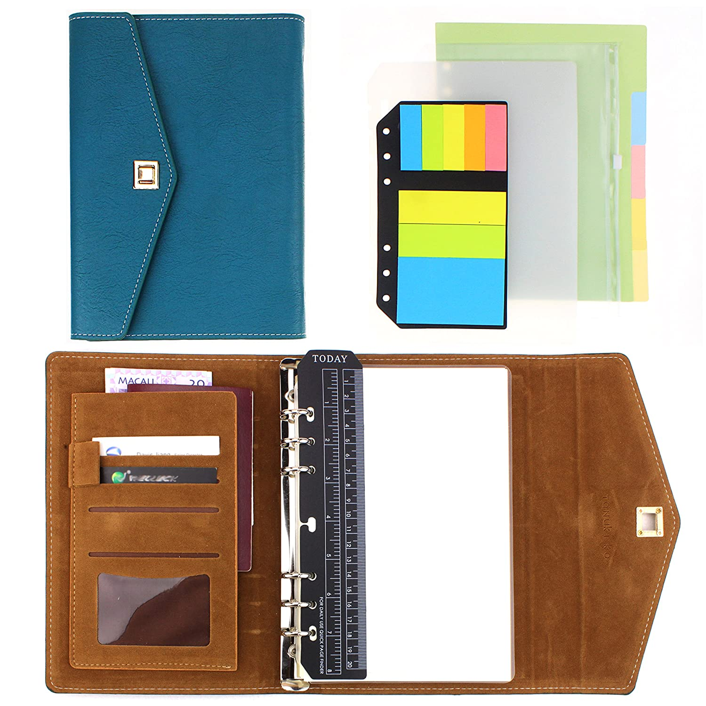 SynLiZy A5 Agenda Organizadore personale Planificadore Cuaderno planificación