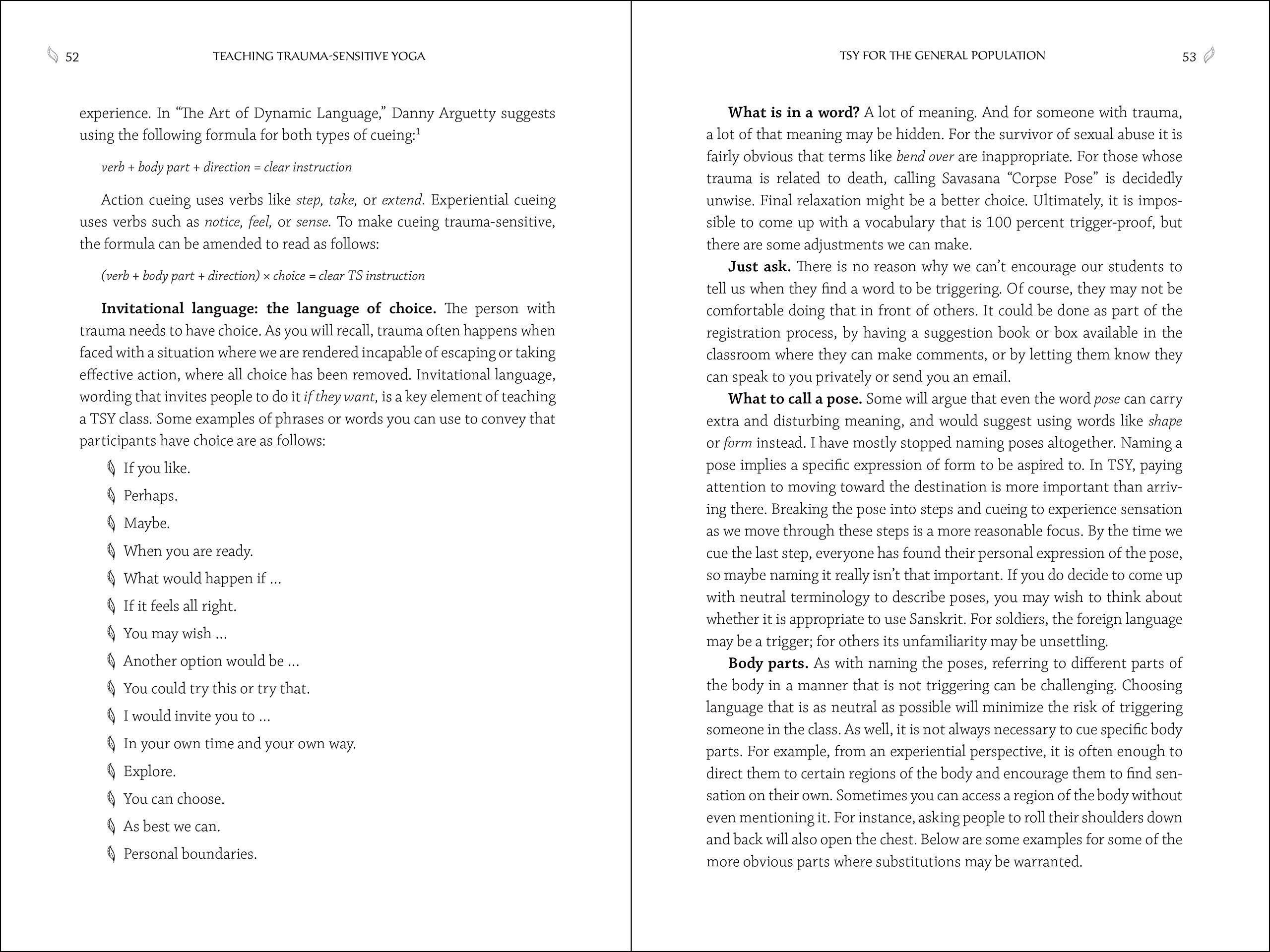Psychopathology Linked To Trauma Teachtrauma >> Buy Teaching Trauma Sensitive Yoga A Practical Guide Book