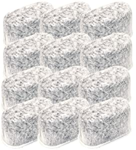Blendin Charcoal Water Filter,Compatible with Sears Kenmore Coffeemakers, 367101 (12 Pack)