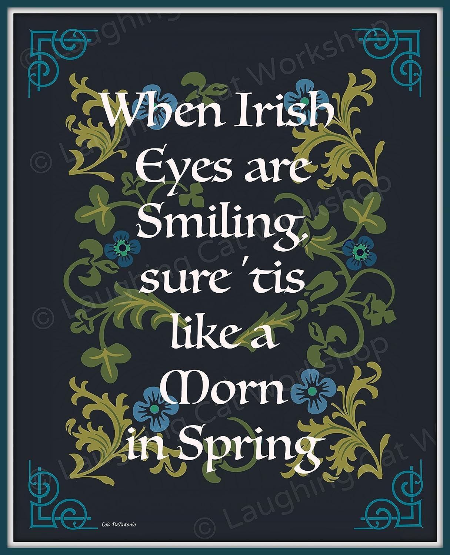 Amazon Irish Folk Print Irish Blessing Scottish Gaelic Celtic
