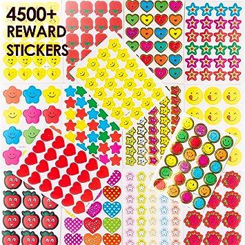 Teacher Created Resources (5618) Chalkboard Brights Stickers
