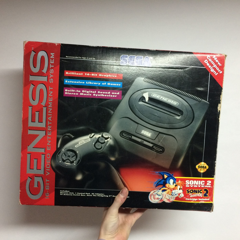 Amazon com: Sega Genesis 2 Console Sonic the Hedgehog 2 Bundle Pack