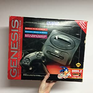 Sega Genesis 2 Console Sonic the Hedgehog 2 Bundle Pack