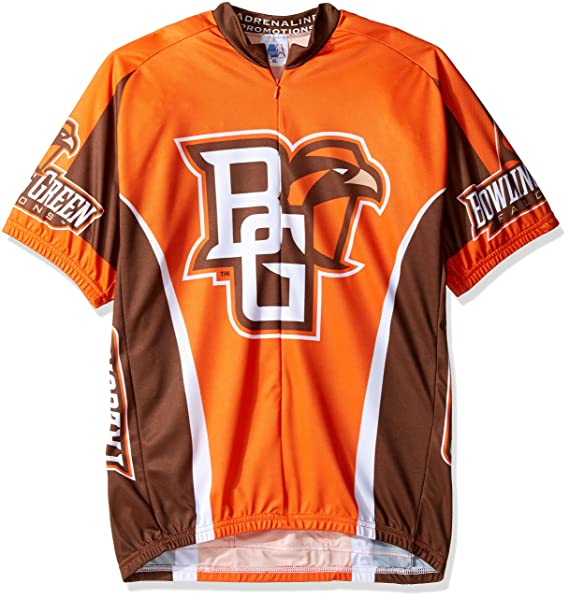 online store 9e2ad 68c6f Adrenaline Promotions NCAA Bowling Green State University Falcons Cycling  Jersey
