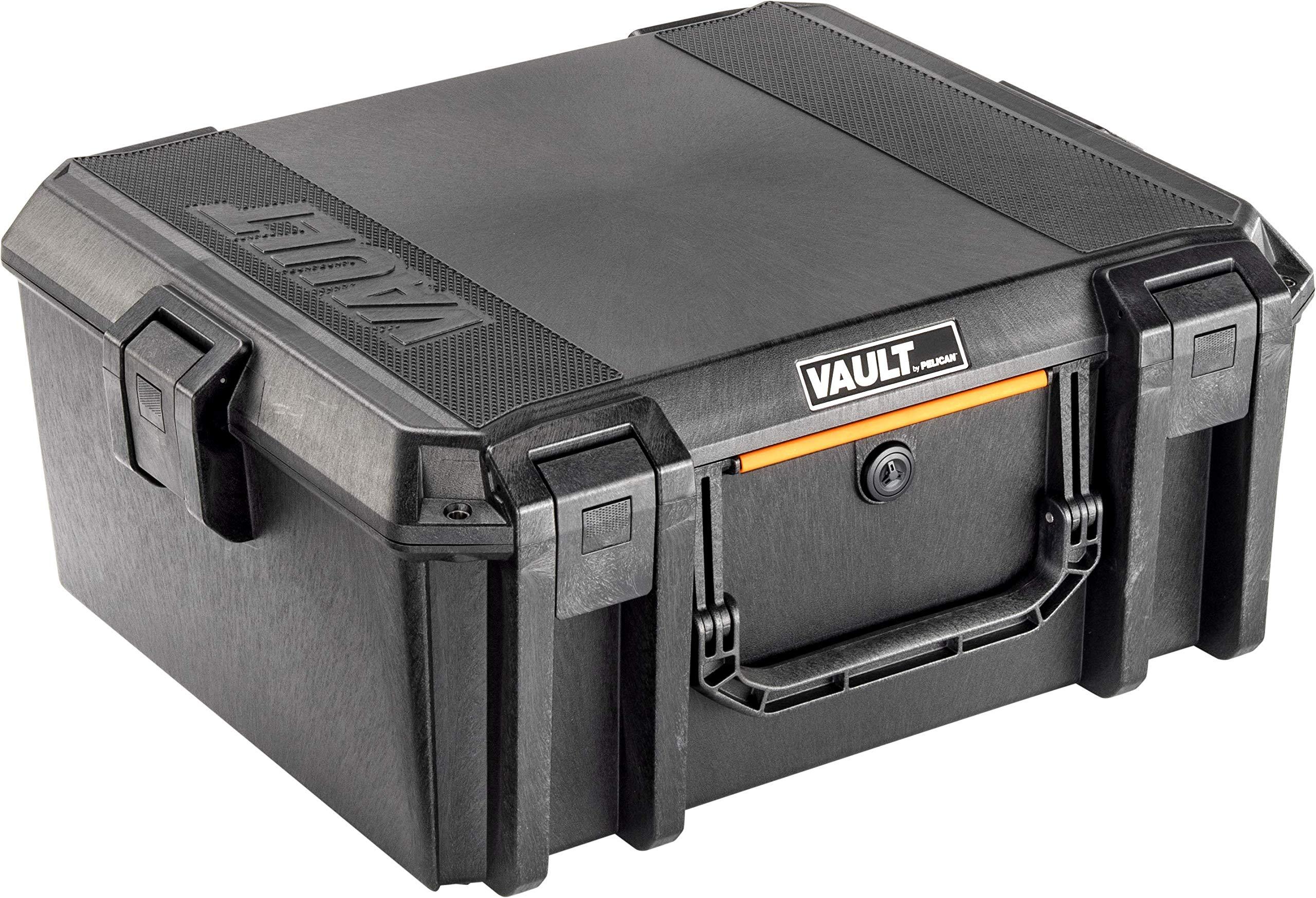 Vault V600 Pistol Case with Foam - by Pelican (Black) by Pelican