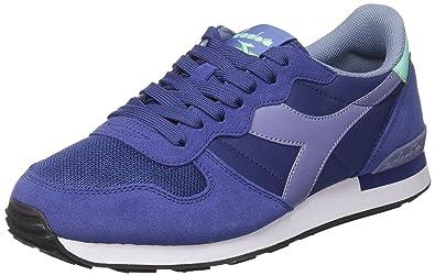 Diadora Camaro, Sneakers Basses Homme, Bleu (Blue Depths/Blue Ice), 42 EU
