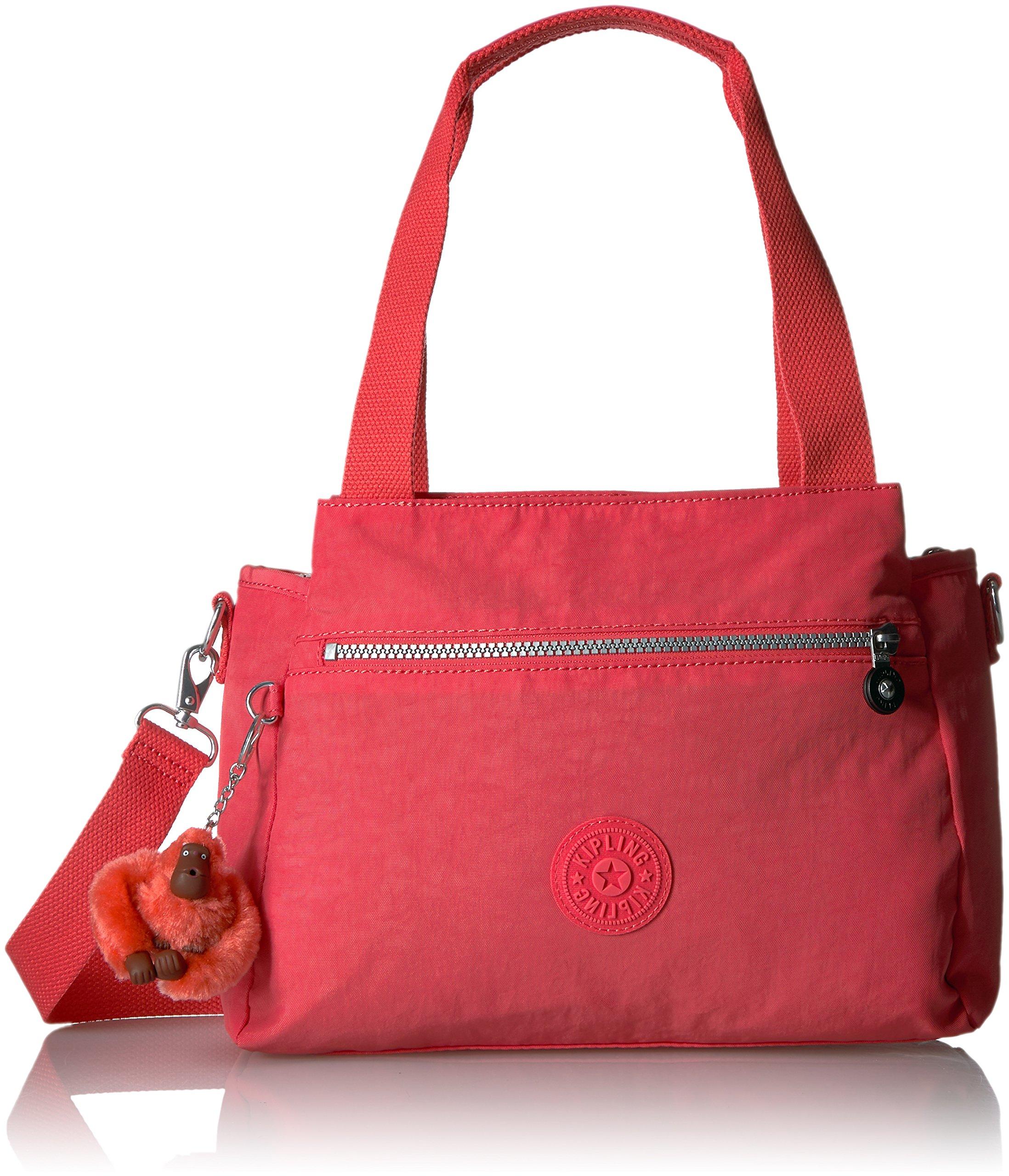 Kipling Elysia Solid Handbag, Papaya